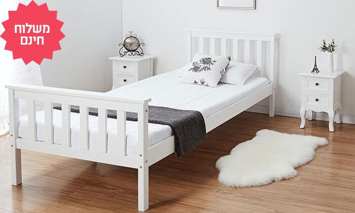4 זוג שידות לחדר שינה - משלוח חינם