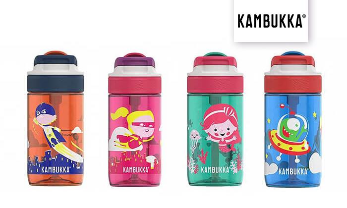 2 בקבוק שתייה תרמי לילדים KAMBUKKA