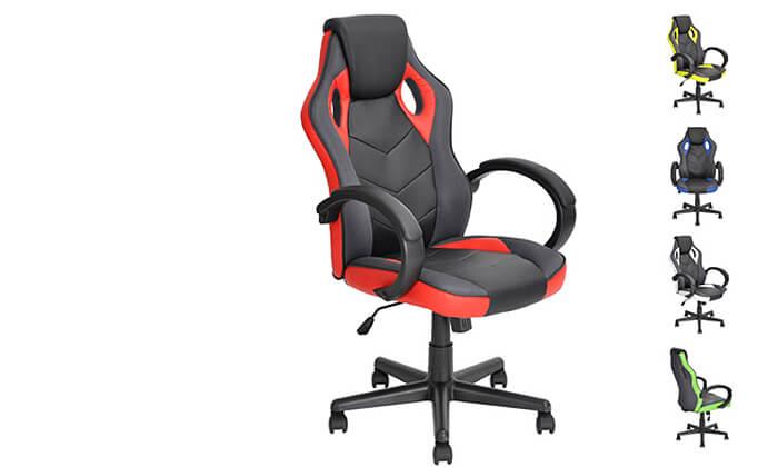 2 כיסא גיימרים Homax