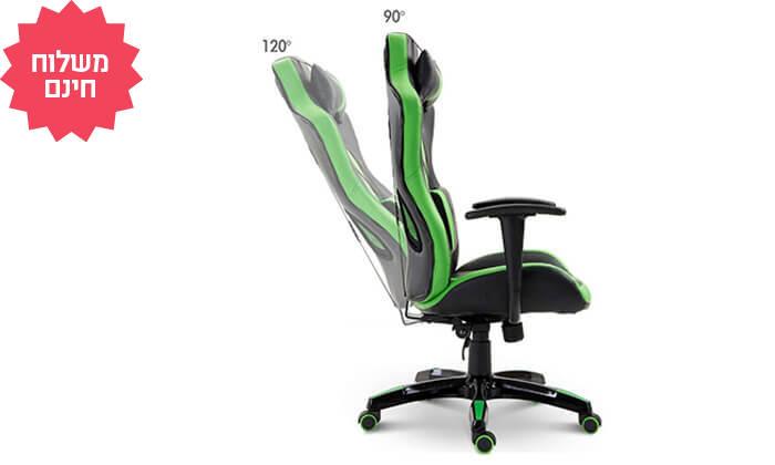 5 כיסא גיימרים אורתופדי