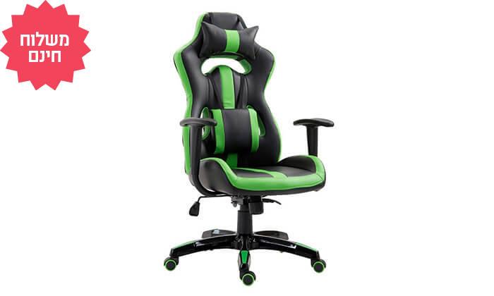 7 כיסא גיימרים אורתופדי