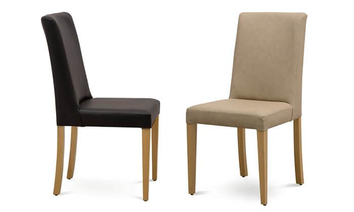 4 שמרת הזורע: פינת אוכל נפתחת עם שולחן מלבני ו-6 כיסאות