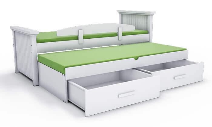 5 שמרת הזורע: מיטת ילדים עם מיטת חבר