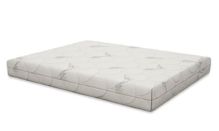 3 שמרת הזורע: מיטה עם בסיס עץ מלא