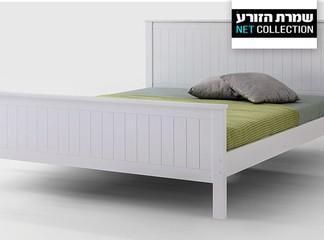 מיטה מעץ מלא דגם 'ניו יורק'