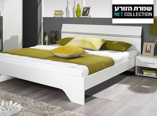 מיטה זוגית דגם אורבניקה ושידות