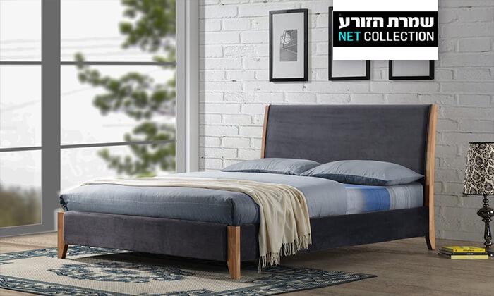 2 שמרת הזורע: מיטה זוגית מרופדת