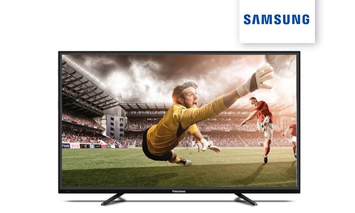 2 טלוויזיה 4K SMART Peerless, מסך 55 אינץ'