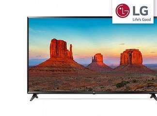 """טלוויזיה חכמה """"43 4K LG"""