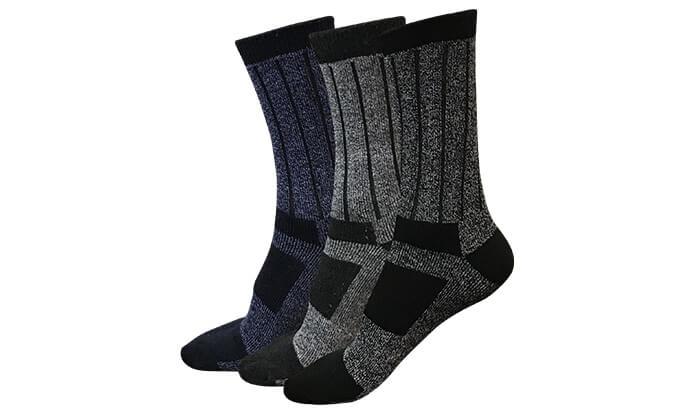 5 מארז 12 זוגות גרביים תרמיים THERMAXX