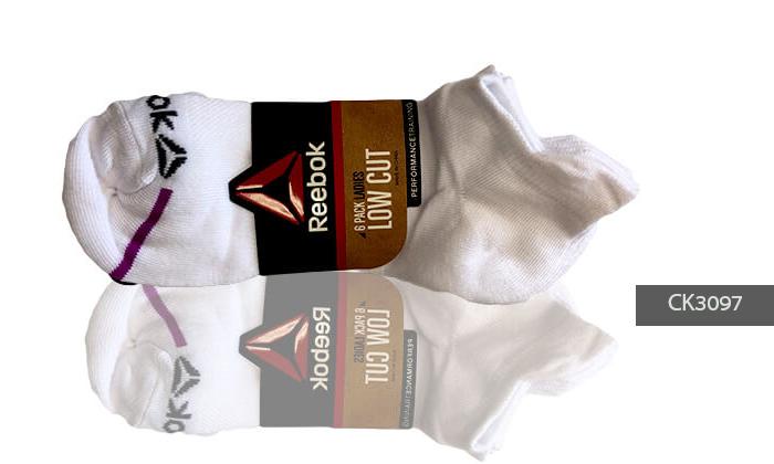 3 מארז 18 זוגות גרביים לנשים Reebok
