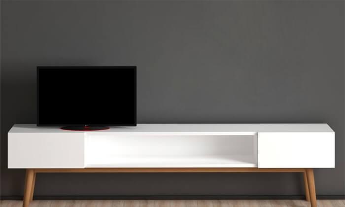 2 מזנון לסלון וזוג מדפיםתואמיםTUDO DESIGN