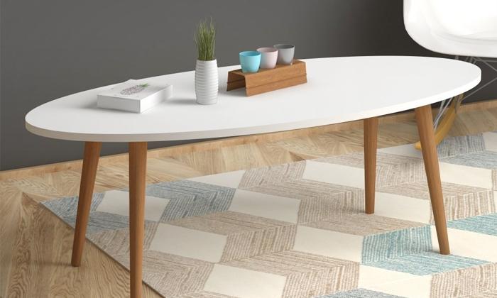 7 שולחן סלון אובלי TUDO DESIGN