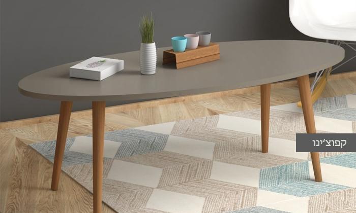 3 שולחן סלון אובלי TUDO DESIGN