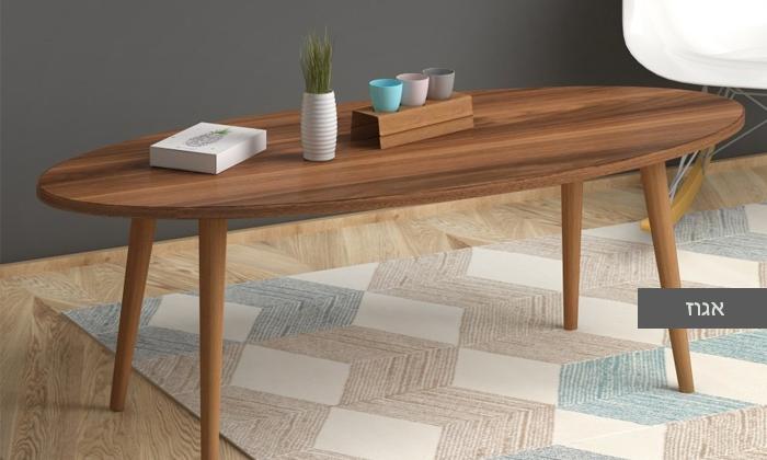 6 שולחן סלון אובלי TUDO DESIGN