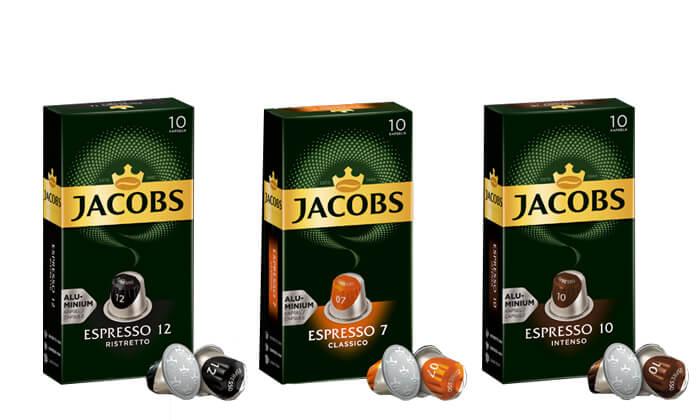 6 קפסולות קפה של ג'יקובס