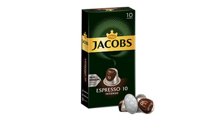 5 קפסולות קפה של ג'יקובס
