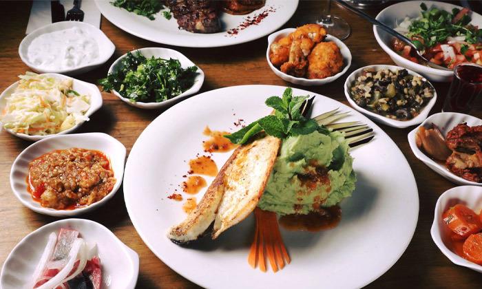12 ארוחה זוגית בדרבי בר דגים, מרינה הרצליה