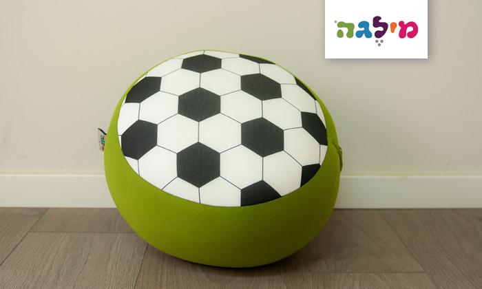 2 פופי מיני כדורגל של מילגה