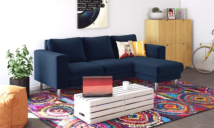 3 שמרת הזורע: ספה פינתית עם שזלונג