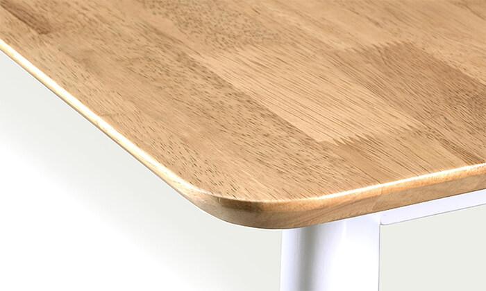 5 שמרת הזורע: פינת אוכל כוללת שולחן ו-4 או 6 כסאות