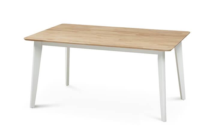 4 שמרת הזורע: פינת אוכל כוללת שולחן ו-4 או 6 כסאות