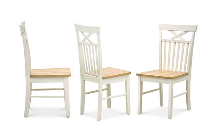 3 שמרת הזורע: פינת אוכל כוללת שולחן ו-4 או 6 כסאות