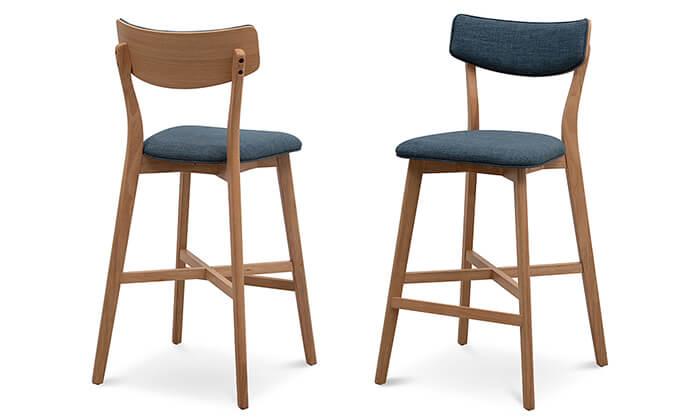 6 שמרת הזורע: כיסא בר מרופד