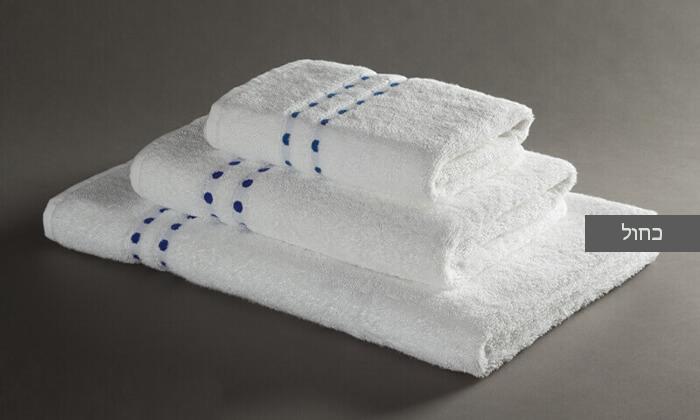5 מגבת רחצה מעוטרת ערד טקסטיל, משלוח חינם