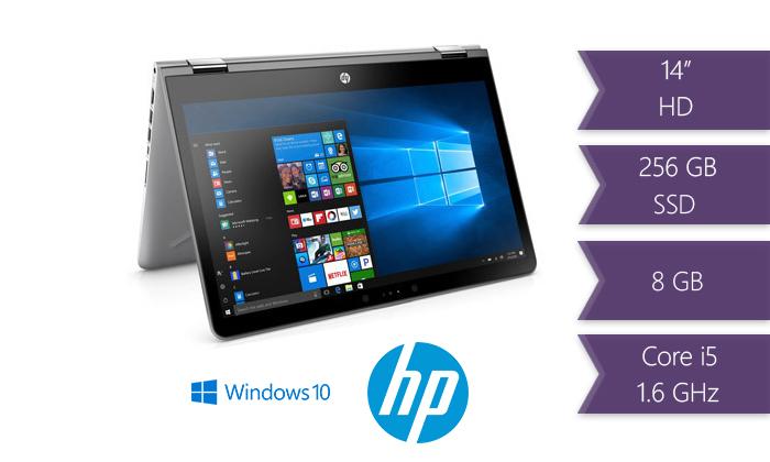 """2 לפטופ HP עם מסך מגע """"15.6"""