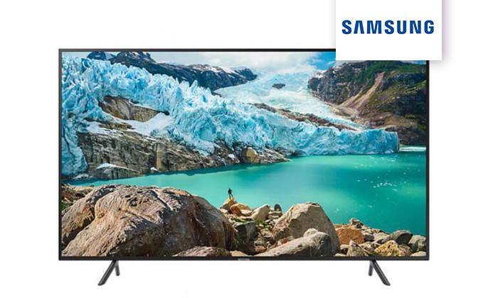2 טלוויזיה חכמה SAMSUNG, מסך 50 אינץ' 4K