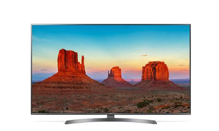 2 טלוויזיה חכמה 4K LG, מסך 75 אינץ'
