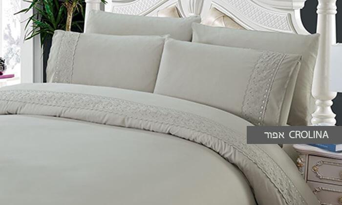 4 סט מצעים למיטת יחיד או למיטה זוגית