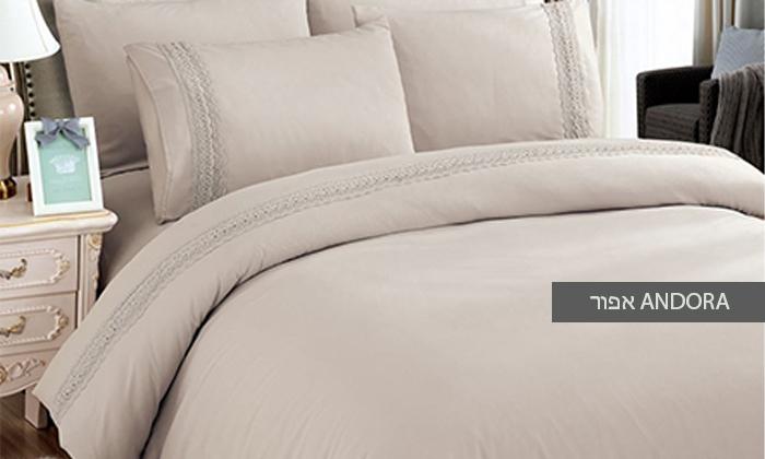 10 סט מצעים למיטת יחיד או למיטה זוגית