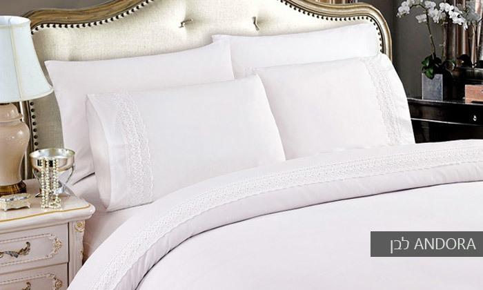 3 סט מצעים למיטת יחיד או למיטה זוגית