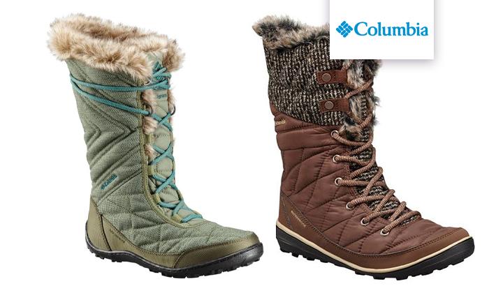 2 מגפיים מבודדים לנשים של Colombia