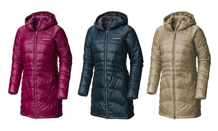 6 מעיל פוך קולומביה Columbia לנשים | משלוח חינם