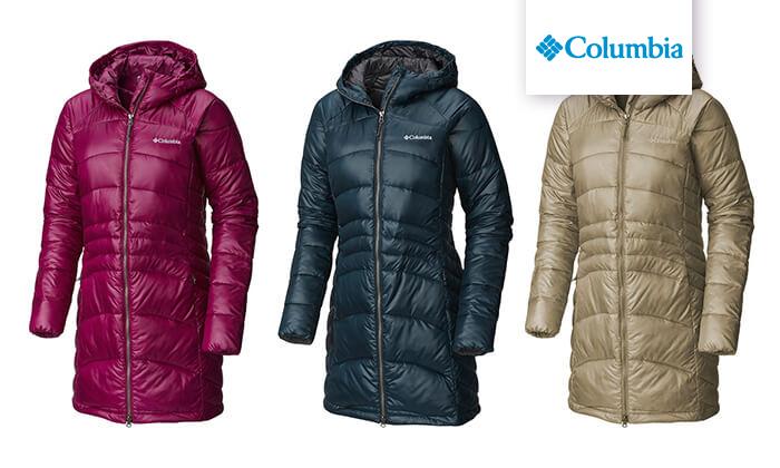 2 מעיל פוך קולומביה Columbia לנשים | משלוח חינם