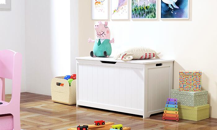 2 ארגז אחסון לצעצועים