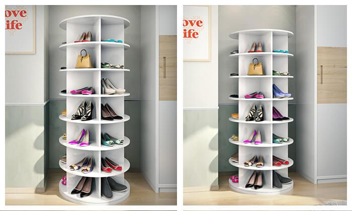 2 ארון נעליים מסתובב