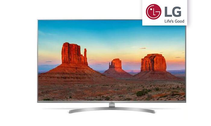 2 טלוויזיה חכמה LG, מסך 55 אינץ'