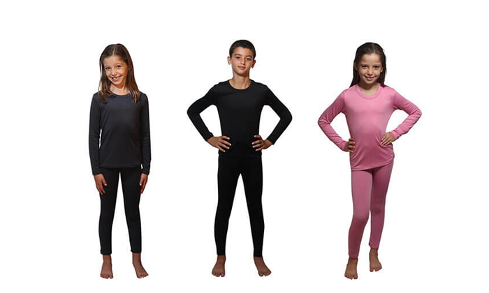 7 חליפה תרמית לילדים, משלוח חינם