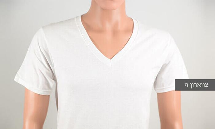 3 מארז 8 חולצות טי לגברים SANTA BARBARA, משלוח חינם