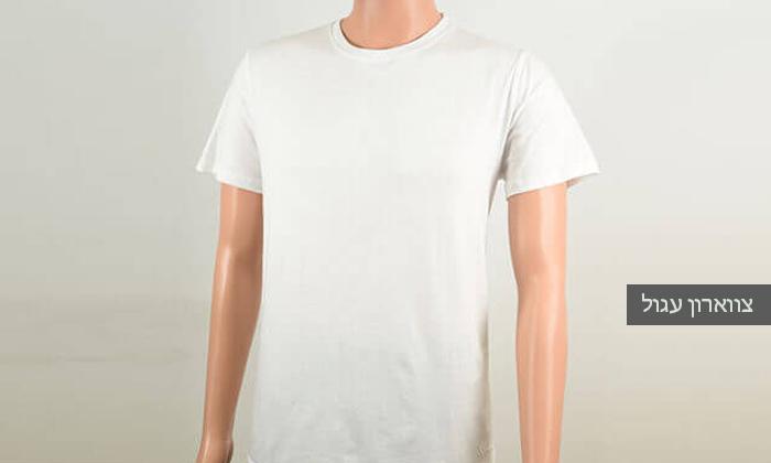 4 מארז 8 חולצות טי לגברים SANTA BARBARA, משלוח חינם