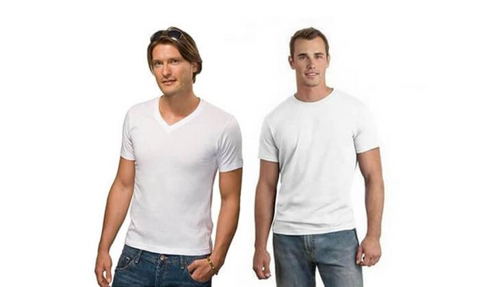 5 מארז 8 חולצות טי לגברים SANTA BARBARA, משלוח חינם