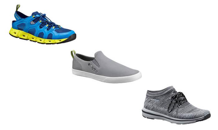 10 נעלי Columbia לנשים ולגברים