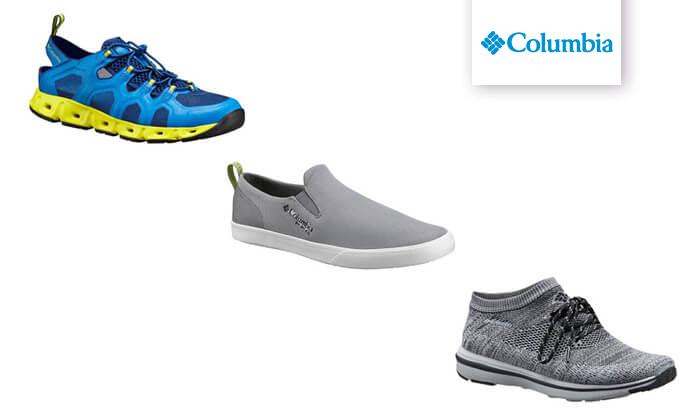 2 נעלי Columbia לנשים ולגברים