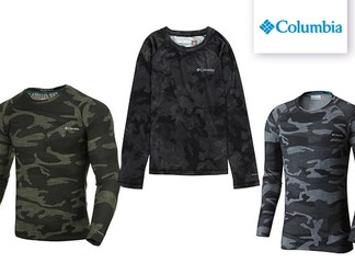 חולצה תרמית לגברים Columbia