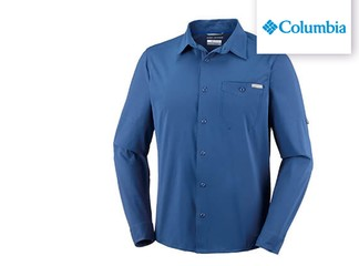 חולצה ארוכה לגברים Columbia