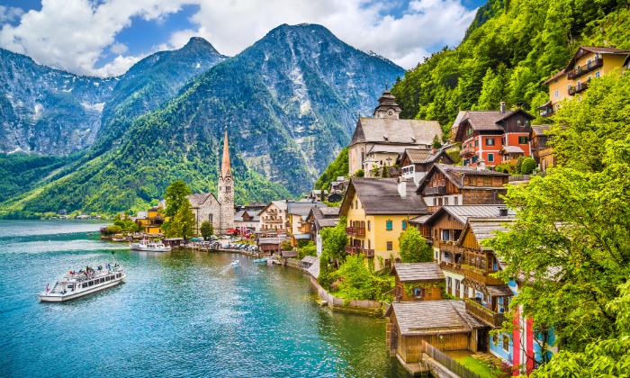 3 טיול מאורגן באוסטריה - כולל אגם כימזה, שייט וארמון לודוויג השני